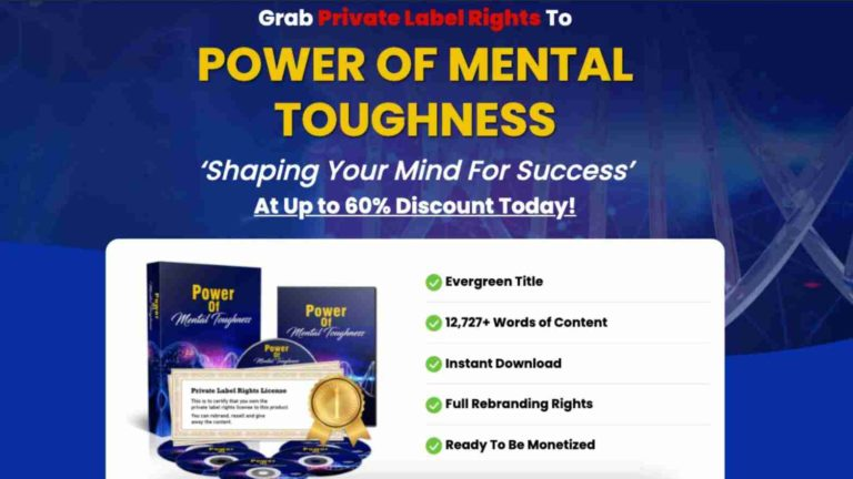 The Power of Mental Toughness